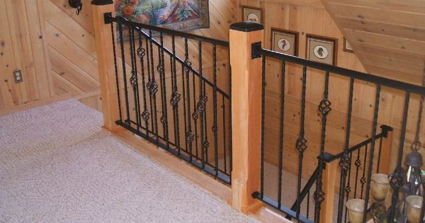 Home Depot Balusters Interior From The Top Iron