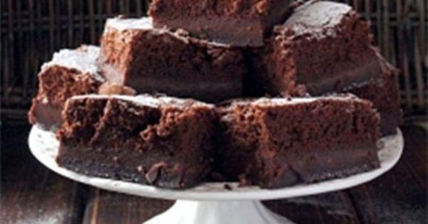 Magic chocolate, Chocolate custard and Custard cake on Pinterest