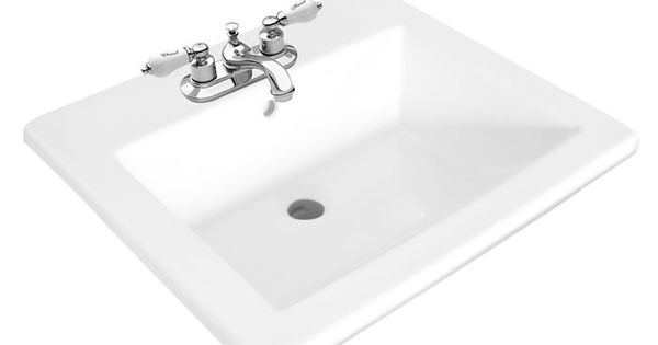 Stanza Square Drop In Sink Foremost Bathrooms Pinterest Sinks Kid Bathrooms And House