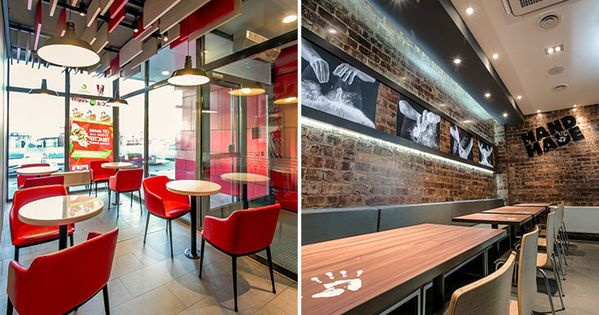 Kfc Mongolia Namyanju Interior Design For The 1st