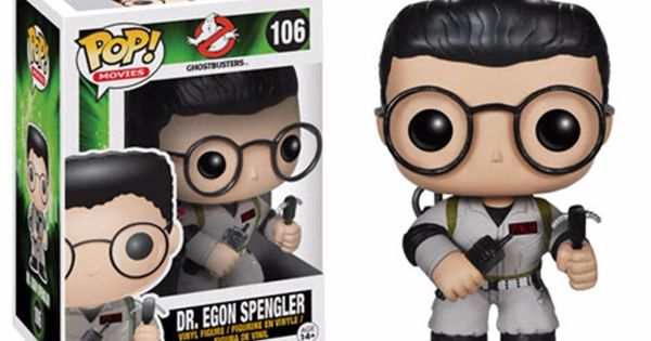 Funko Pop! Movies: Ghostbusters - Dr. Egon Spengler Action Figure ...