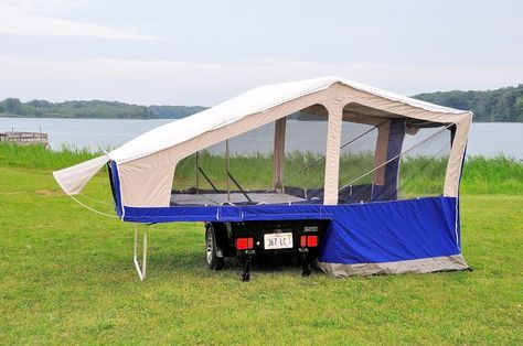 Aspen Classic Camper | Motorcycle camping gear, Tent trailer
