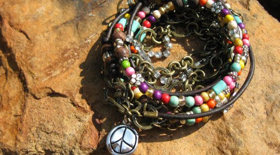 Please vote for the hippie girl boho leather stack at shop bevel.com...design