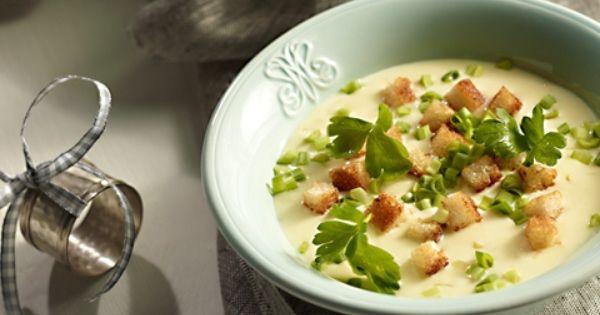 Zupa Serowa Z Grzankami Przepis Recipe Food Cooking Great Recipes