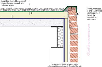 Bsi 050 Parapets Where Roofs Meet Walls Flat Roof Design Parapet Roof Design