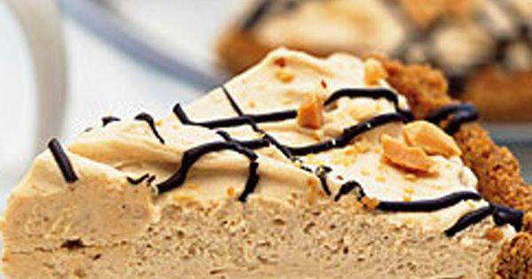 Black-Bottom Peanut Butter Mousse Pie   Pies   Pinterest   Peanut ...