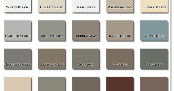 Siding Color Harbor Stone New House Outdoor Pinterest