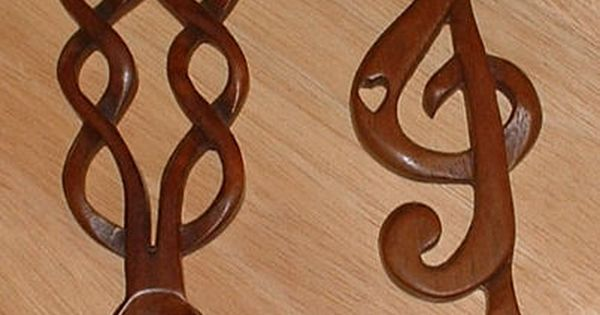 Free wood carving spoon patterns wikimedia commons