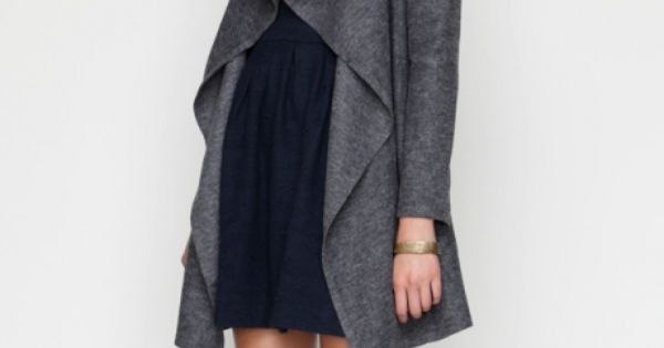 HTW Draped Wool Jacket w numbers