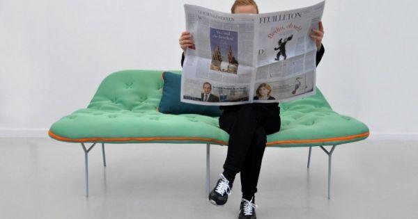 Schlafcouch design  Schlafcouch Design modern-innovativ Stephanie-Hornig Schlafsack ...