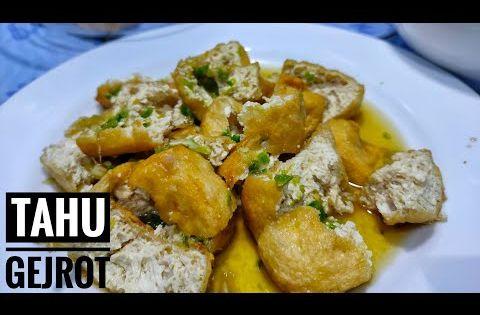Resep Tahu Gejrot Enak Pakai Sambal Ijo Youtube In 2020 Spicy Recipes Tofu Recipes Tofu Ingredients