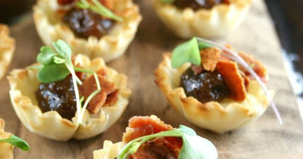 Jam tarts, Fig jam and Brie on Pinterest