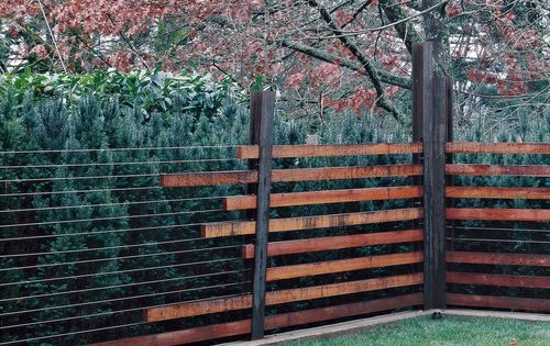 Fence Detail | Portland Sequoia House | WA Design