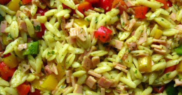 kritharaki salat nudel salat recipe thermomix food and salad. Black Bedroom Furniture Sets. Home Design Ideas