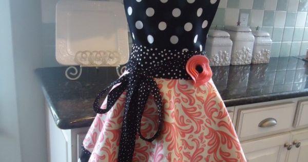 Cute apron idea!