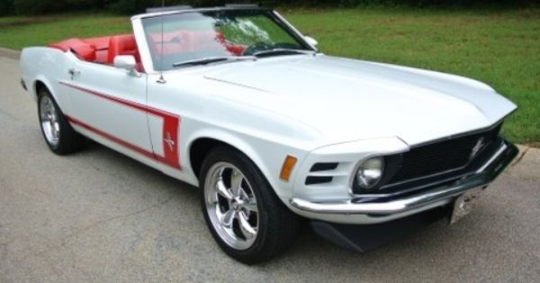 1970 Ford Mustang 1970 Ford Mustang Mustang Convertible Ford