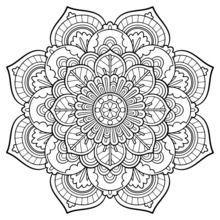 Coloring Page Base Com Imagens Desenhos Para Colorir Mandalas