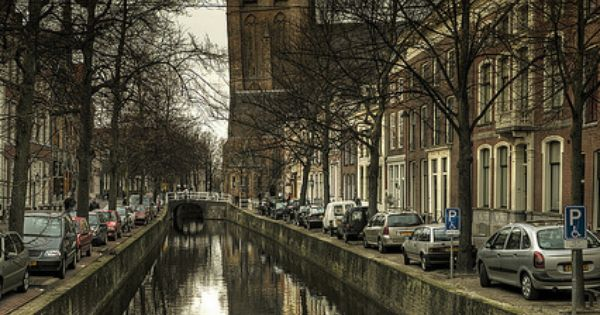 The Oude Kerk, Oude Jan, Delft, Netherlands. I loved the Netherlands!