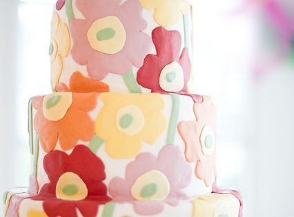 Marimekko Wedding Cake by Wild Orchid Baking Co.'s photostream