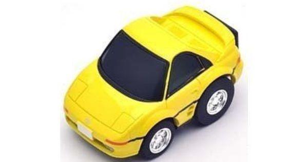 Z19b Yellow Tommy Tech Tomytec Choro Q Zero Toyota Mr2 Gt Toyota Mr2 Tomytec Toyota