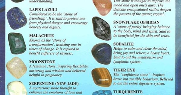 The Healing Powers Of Crystals Crystal Power Pinterest