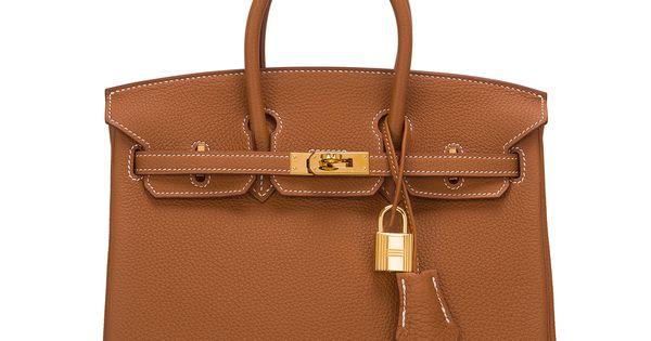 Hermes Birkin 25cm Black Togo Bag Gold Hardware