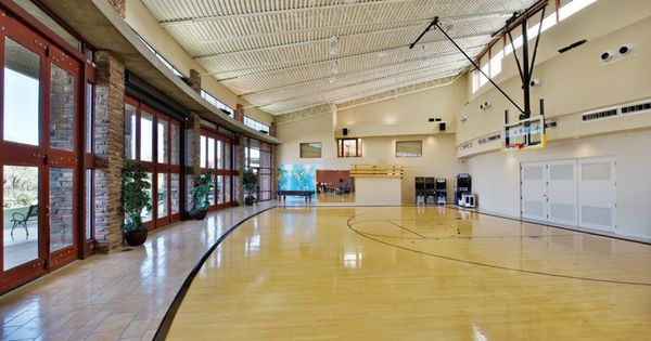 House of the day a scottsdale estate with an indoor for How many square feet is a basketball court