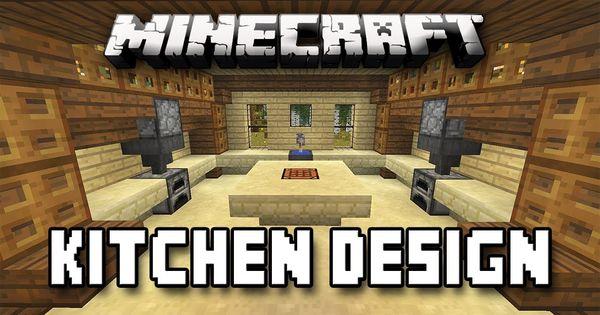 Minecraft Tutorial How To Build A House Part Kitchen Design