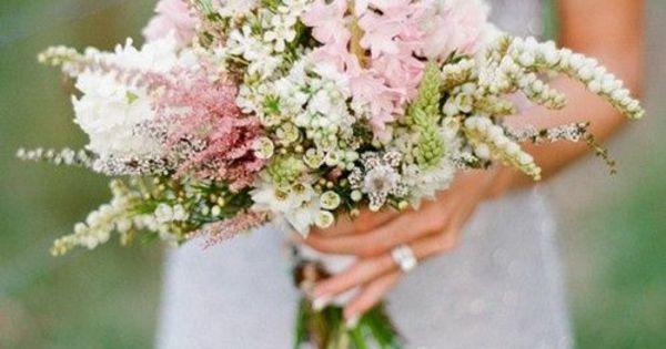 ... Blumen für Ihren Brautstrauß - hochzeitsblumen weiße rosa