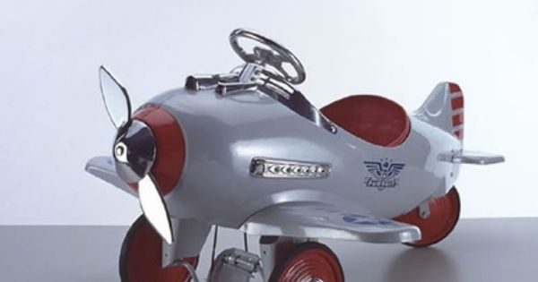 Pedal Toys For Boys : Us patrol pedal airplane by american retro cars