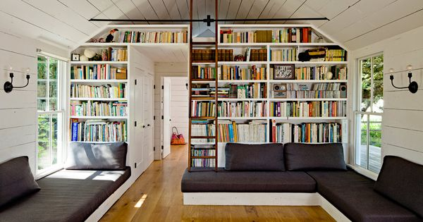 The perfect reading room - Tiny House by Jessica Helgerson Interior Design