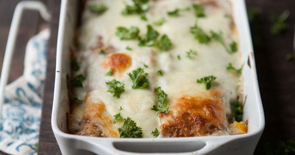 yum... this recipe for Roasted Pumpkin and Smoked Blue Cheese Lasagna from