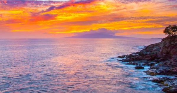 Lahaina sunset, Maui, Hawaii sunset hawaii travel love maui beauty nature ocean