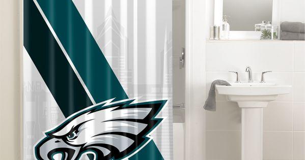 Philadelphia Eagles Nfl Football Teams 090 Shower Curtain