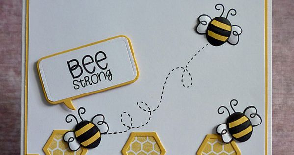 Simon's Bees by Debby4000 - Cards and Paper Crafts at ...