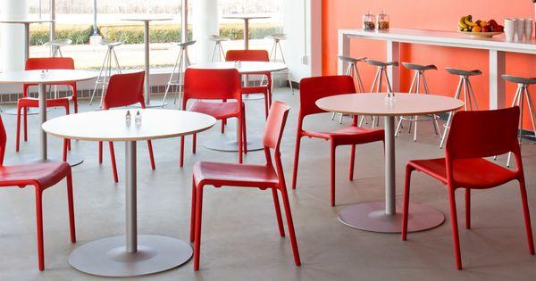 Knoll arena table spark chair and jamaica stool i