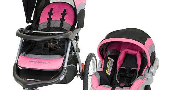 carseat baby trend expedition elx travel system stroller pink nikki. Black Bedroom Furniture Sets. Home Design Ideas