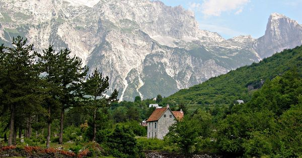 Thethi Village, Albania must be one of the most beautiful places in