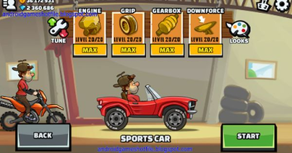 Hill Climb Racing 2 V1 0 1 Mod Apk Unlimited Coins Diamonds Unlocked Latest Android Games Mod Apk 2016 Hill Climb Racing Hill Climb Latest Android Games