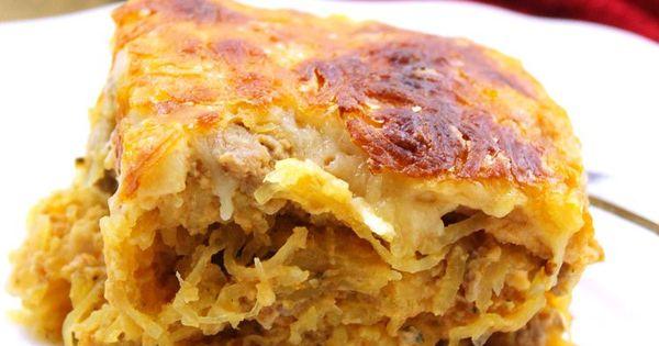Cheesy Spaghetti Squash Bake | Recipe | Spaghetti squash casserole ...