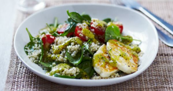 Halloumi and quinoa salad | Recipe | Quinoa Salad, Quinoa and Salads