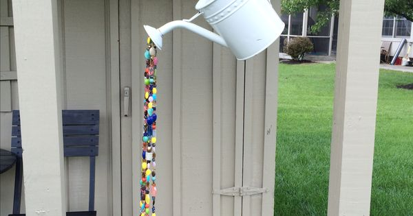 how to make easy wind chimes at home