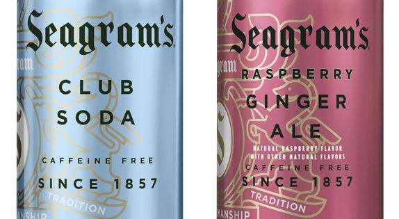 I'm in love with Seagram's Ginger Ale new package design!