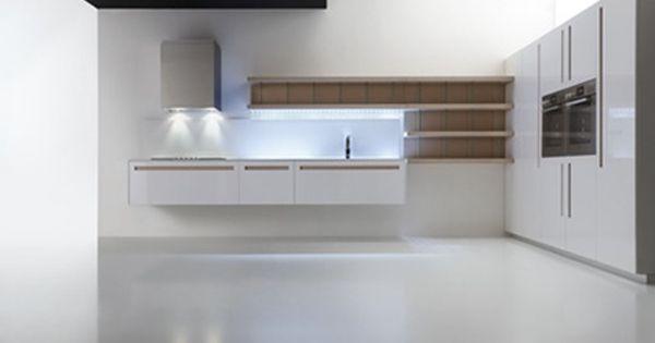 Cocinas dise o de cocina con muebles suspendidos for Cocinas originales diseno