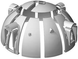 7700型ドームハウス タイプと規格 ジャパンドームハウス株式会社 Dome Building Dome House Dome Home