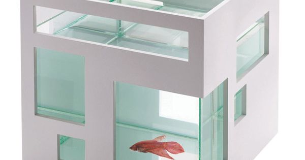Santas Tools and Toys Workshop: Pet Products: Umbra FishHotel Aquarium this would