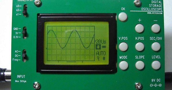 Digital Oscilloscope Basics : Digital oscilloscope diy kit sparkfun electronics