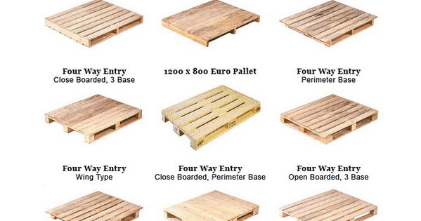 Here are the many types of wooden pallets to make the best