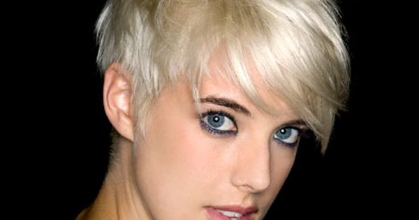 Love this short hair style! Would love to try and pull it