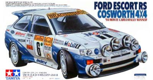 Boxart Ford Escort RS Cosworth 24144 Tamiya : ford escort cosworth rally car - markmcfarlin.com